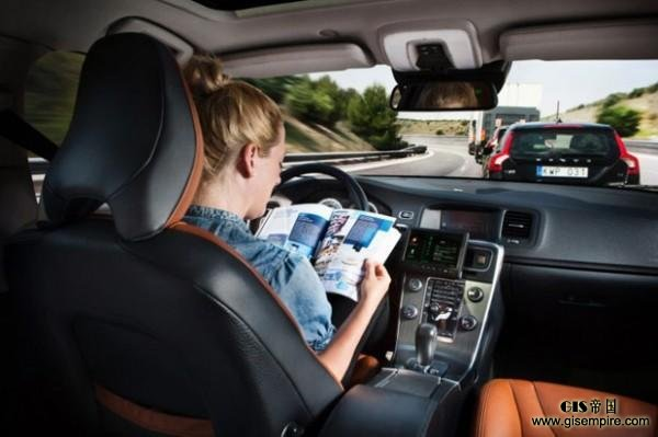 无人驾驶汽车需要地图吗高清图片